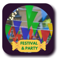 Party, Festivals and Puja Needs